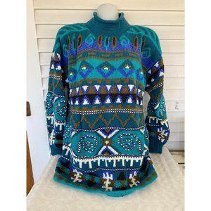 Vintage handknit Jay Jacobs sz L sweater